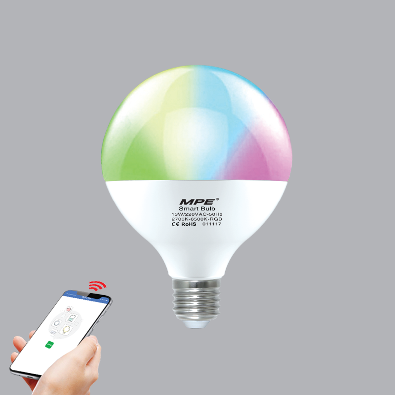 Đèn Led Bulb Smart MPE 13W Wifi