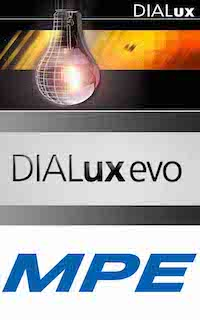 GERMAN TECHNOLOGY: MPE IS A PREMIUM PARTNER OF DIAL (GERMANY). OVER 1000 KIND OF MPE LED LIGHTS HAS UPDATED ON DIALux - LIGHTING DESIGN SOFTWARE