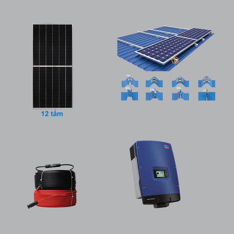 Solar Power System 5.52 kWp 3 Phase
