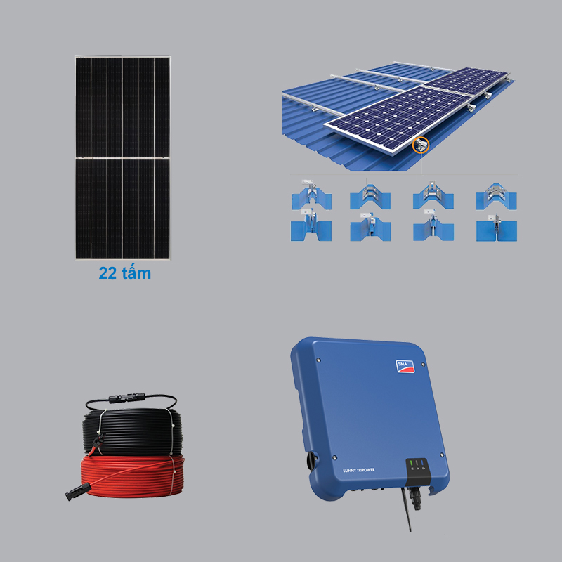 Solar Power System 10.12 kWp 3 Phase