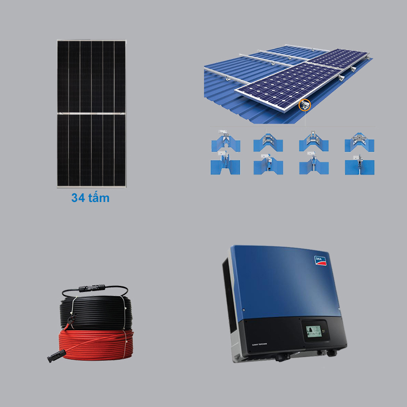 Solar Power System 15.64 kWp 3 Phase