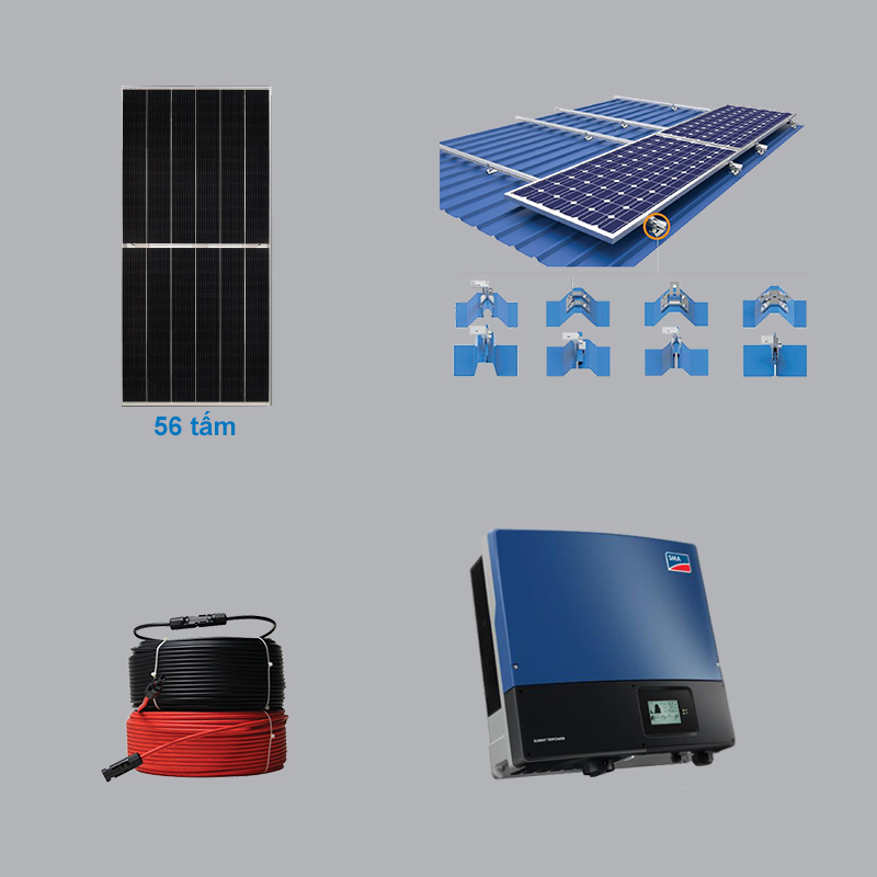 Solar Power System 25.76 kWp 3 Phase