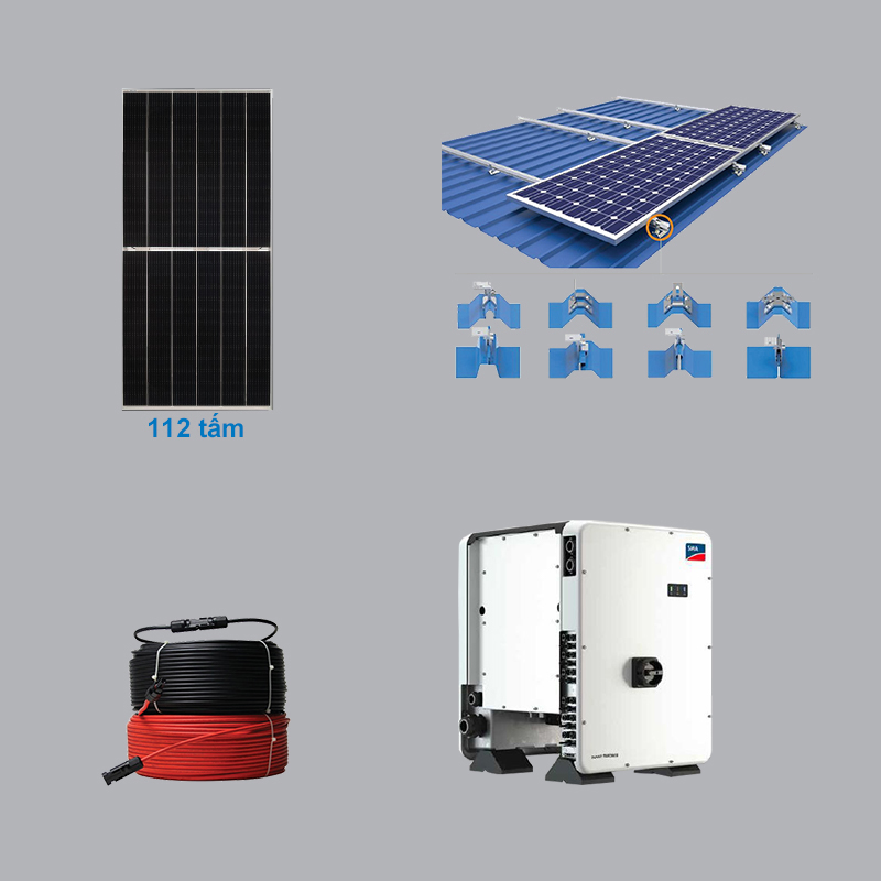 Solar Power System 51.52 kWp 3 Phase